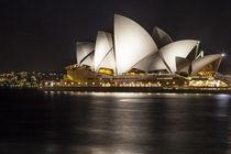 Sydney Oper bei Nacht  by Hartmut Albert