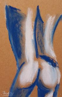Akt Blau VII von art-gallery-bendorf