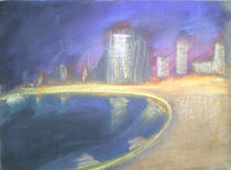Skyline Abstrakt IV by art-gallery-bendorf