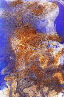 Rost trifft Blau I by art-gallery-bendorf