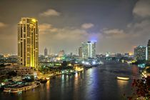 Bangkok by night von Bruno Schmidiger