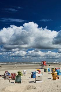 Strandkörbe am Langeooer Strand von sven-fuchs-fotografie