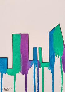 Contemporary Skyline II c by art-gallery-bendorf
