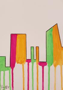 Contemporary Skyline II w von art-gallery-bendorf
