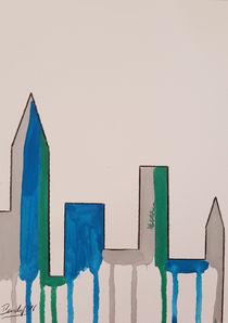Contemporary Skyline III c von art-gallery-bendorf