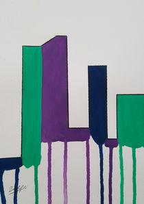 Contemporary Skyline V c von art-gallery-bendorf