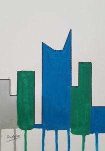 Contemporary Skyline VIII c by art-gallery-bendorf
