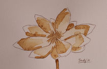 Coffee Flowers IX von art-gallery-bendorf