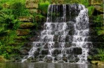Wasserfall von Gabi Siebenhühner