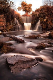 Penllergare waterfalls Swansea UK von Leighton Collins