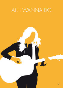 No074 MY Sheryl Crow Minimal Music poster by chungkong