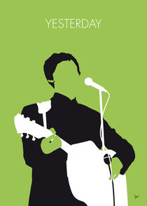 No076 MY PAUL MCCARTNEY Minimal Music poster by chungkong