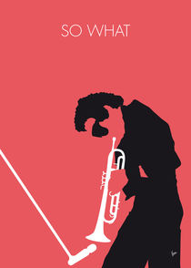 No082 MY Miles Davis Minimal Music poster by chungkong