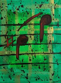 Noten Grün I von art-gallery-bendorf