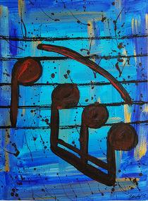 Noten Blau II von art-gallery-bendorf