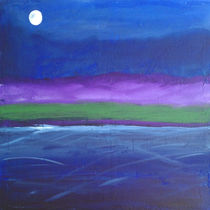 Shore At Night by art-gallery-bendorf