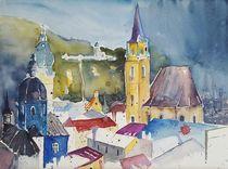 Stadtansicht Salzburg von Inez Eckenbach-Henning