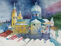 Salzburger Dom von Inez Eckenbach-Henning