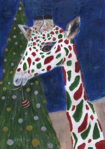 Christmas Giraffe by Jamie Frier