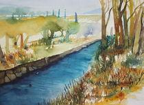 Landschaft im Herbst von Inez Eckenbach-Henning