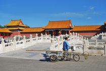 Peking Kaiserpalast von Anita Pescosta