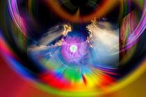 Himmlische Erscheinung 5 by Walter Zettl