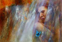Lara mit Schmetterling by Annette Schmucker