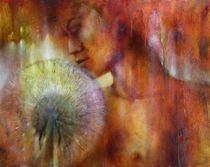 Nora mit Pusteblume by Annette Schmucker