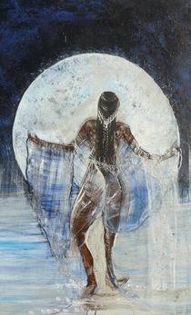 Mondsilber, Ausschnitt b von Heike Hild