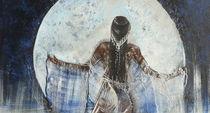 Mondsilber, Ausschnitt a von Heike Hild