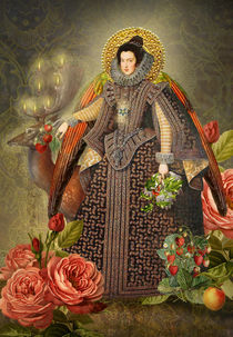 Elizabethan Angel by Helen K. Passey