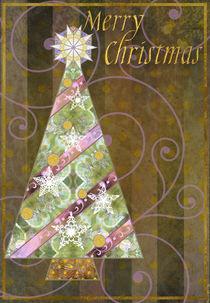 Christmas Tree Card von Helen K. Passey