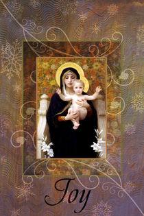 La Vierge Christmas Card von Helen K. Passey