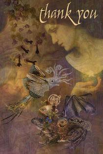 Steampunk Thank You von Helen K. Passey