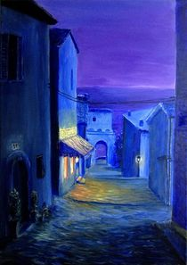 Nocturnal Alley by Sophie Kolb