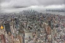 New York Manhattan cityscape by wamdesign