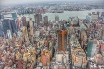 New York Manhattan cityscape von wamdesign