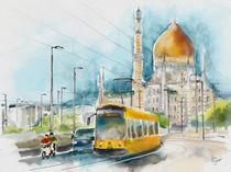 Dresden, Blick von der Marienbrücke zur Yenidze by Hartmut Buse