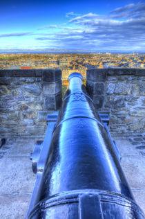 Edinburgh Castle Cannon von David Pyatt