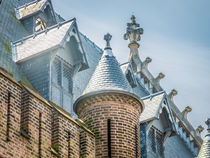 Roof Detail of Ridderzaal in Binnenhof by Erik Mugira