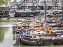 "Zoom into the ""Old Harbour"" of Rotterdam von Erik Mugira"
