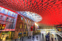 Kings Cross Station London by David Pyatt