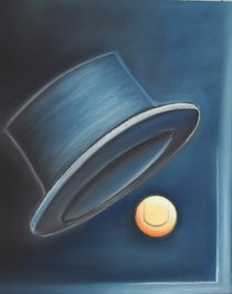 Tenniszauber - Malerei - Tennisbild von Edeltraut K.  Schlichting