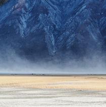 Dust clouds at Lake Kluane von Peter Hammer