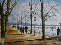 Greenwichpromenade Tegel by Heinz Sterzenbach