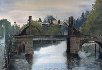 Jungfernbrücke by Heinz Sterzenbach