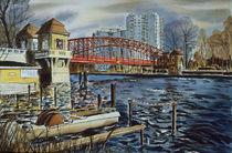 Sechserbrücke Tegel by Heinz Sterzenbach