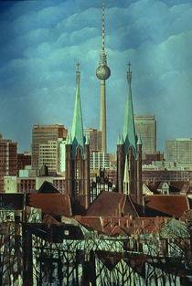 Berlin-Panorama Kreuzberg  von Heinz Sterzenbach