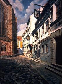 Nikolaikirchplatz by Heinz Sterzenbach