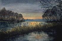 Tegeler See zwischen Scharfenberg u. Baum by Heinz Sterzenbach